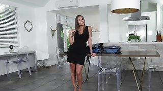 Great White Father housewife is riding her husband's hung affiliate